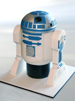 R2D2-cake