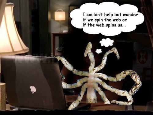 spider laptop Upload a photo of Trinity Loren