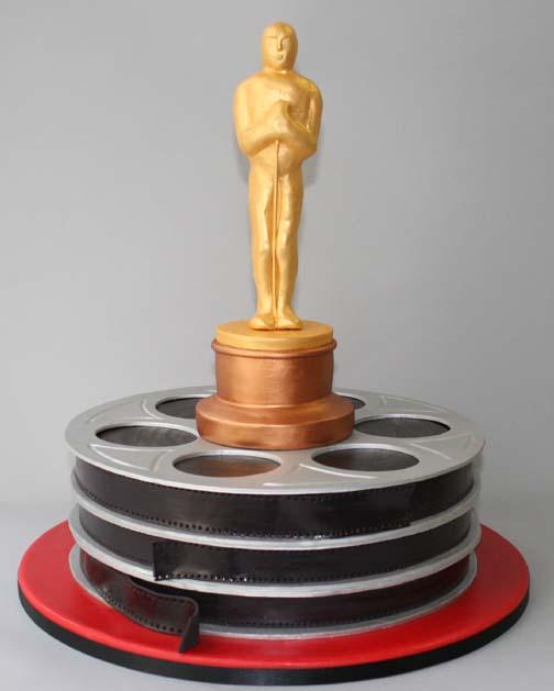 Oscar Cake Topper