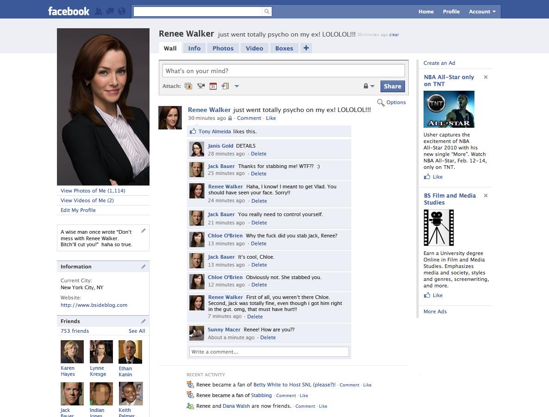 Renee walker s facebook page