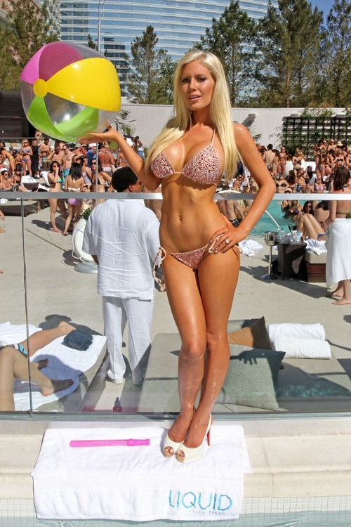 Heidi montag shows new tits