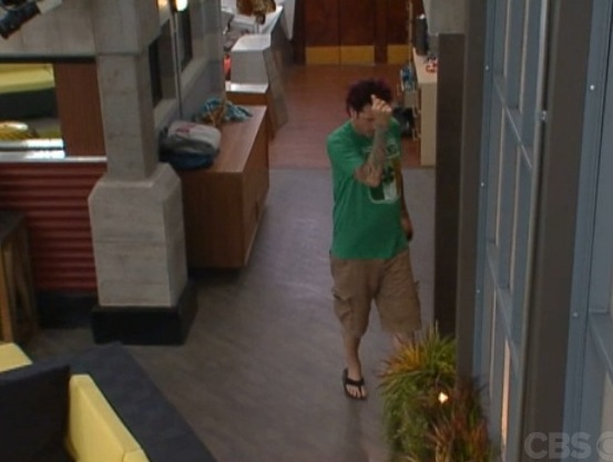 big brother photocap dick leaves daniele complains and