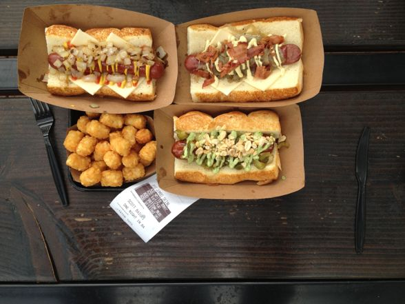things i ate hot dogs and more at dog haus b side blog. Black Bedroom Furniture Sets. Home Design Ideas